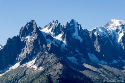 Aiguilles de Chamonix.