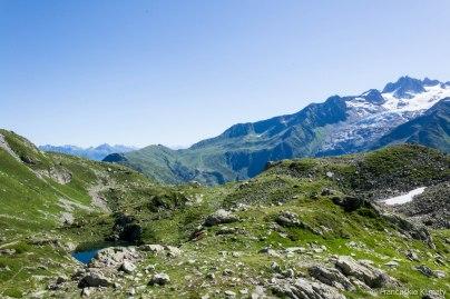 Col de Balme i Glacier du Tour.