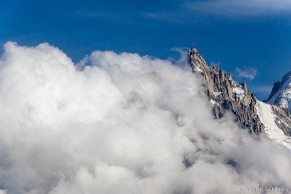 Aiguille du Midi (3842 m).