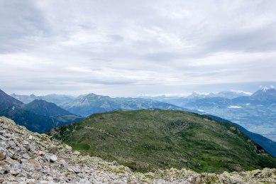 Réserve Naturelle de Carlaveyron - Aiguillette du Brévent (2310 m), Pointe de Lapaz (2313 m) i Aiguilette des Houches (2285 m).