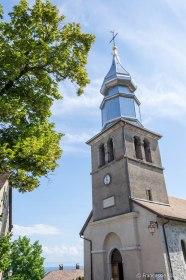 Kościół św. Pankracego w Yvoire.