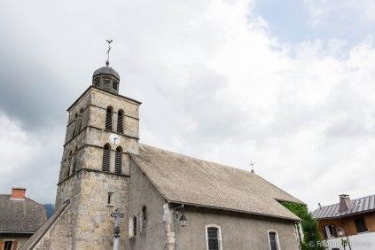 Kościół w Morillon.