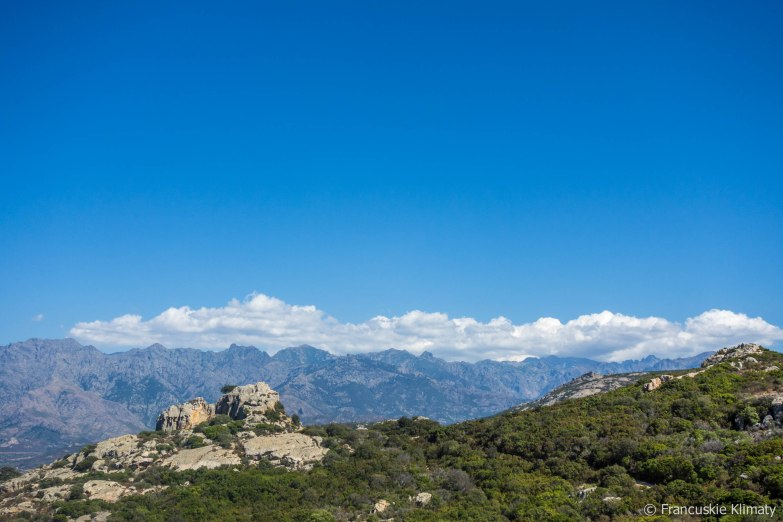 Masyw górski Monte Cinto / Massif de Monte Cinto.