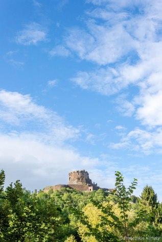 Zamek w Murol / Château de Murol.