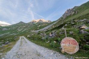 W drodze do przełęczy Chavière.