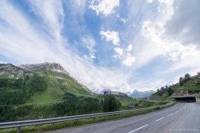 W drodze do Val Claret.