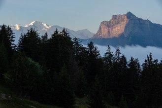 Mont-Blanc i masyw Fiz.